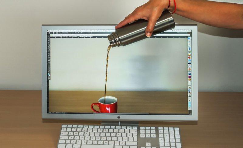 コーヒーが変に見えてくる