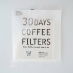 30 Days Coffee Filters